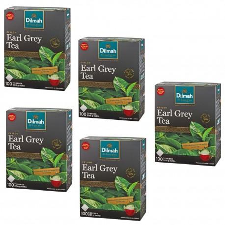Herbata Dilmah Earl Grey 100 torebek x 5 opakowań