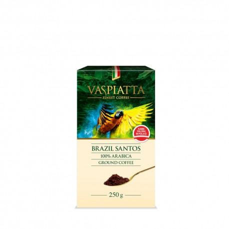 Kawa mielona Vaspiatta Brazil Santos 250g