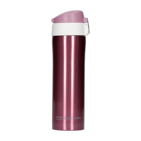 Kubek termiczny Diva Cup różowo biały - 450ml