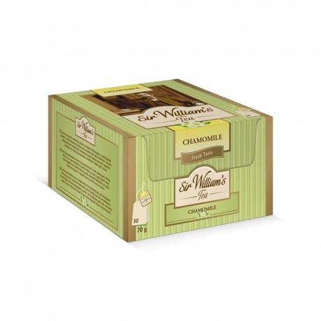 Herbata ziołowa Sir William's Tea CHAMOMILE 50 kopert