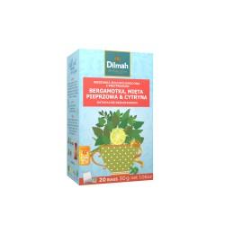 Napar ziołowy Dilmah Rooibos - Bergamot Orange, Peppermint & Lemon Zioło [20x2g]