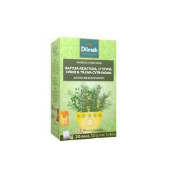 Napar ziołowy Dilmah Rooibos - Bergamot Orange, Peppermint & Lemon 20 x 2g
