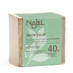 Mydło z Aleppo 40% oleju laurowego Najel 200 g