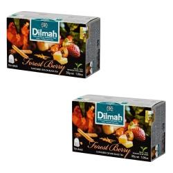Dwupa Herbata Dilmah Forest Berry 20 torebek