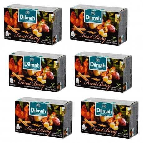 Herbata Dilmah Forest Berry x 6 op