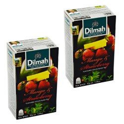 Dwupak Herbata Dilmah Mango & Strawberry 20 torebek