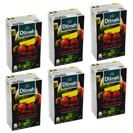 Herbata Dilmah Mango & Strawberry x 6 op.