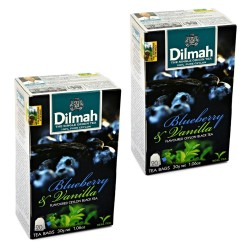 Dwupak Herbata Dilmah Blueberry & Vanilla 20 torebek