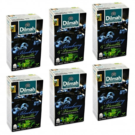 Herbata Dilmah Blueberry & Vanilla x 6 op.
