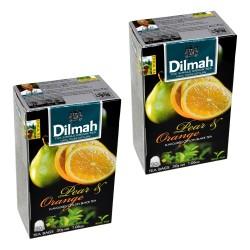 Dwupak Herbata Dilmah Pear & Orange 20 torebek