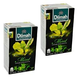 Dwupak Herbata Dilmah Mint 20 torebek