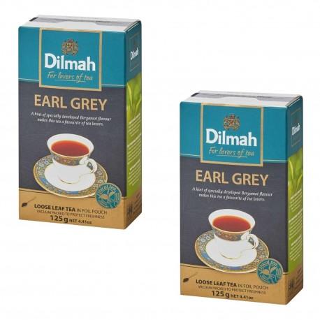 Dwupak Herbata Dilmah Earl Grey Tea 125g