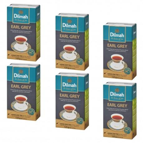 Herbata Dilmah Earl Grey Tea 125g x 6 op