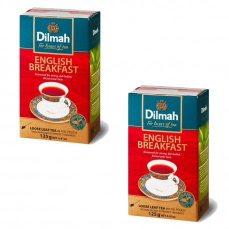 Dwupak Herbata Dilmah English Breakfast 125g