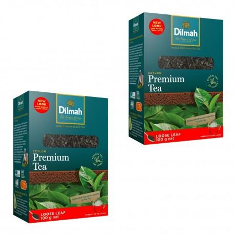 Dwupak Herbata Dilmah Premium Ceylon Orange Pekoe 100g