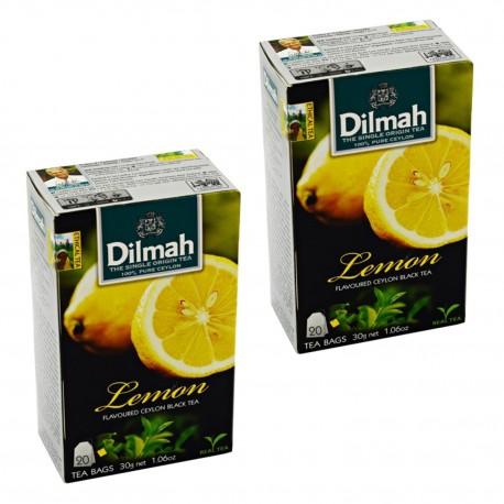 Dwupak Herbata Dilmah Lemon 20 torebek
