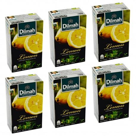 Herbata Dilmah Lemon 20 torebek x 6 op