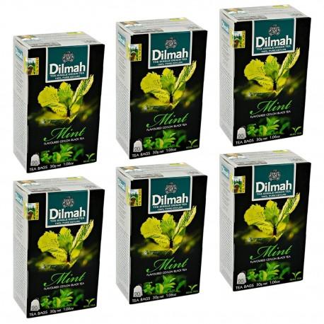 Herbata Dilmah Mint 20 torebek x 6 op