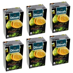 Herbata Dilmah Pear & Orange 20 torebek x 6 op