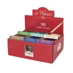 Prezenter z herbatami 6 smaków Sir William's