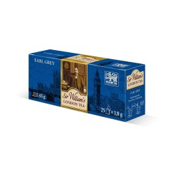 Herbata Sir William's London Earl Grey 25 saszetek
