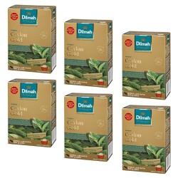 Dilmah Ceylon Gold – herbata liściasta 250g x 6 op