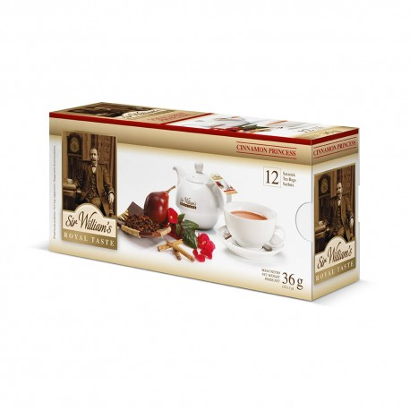 Herbata Sir William's Cinnamon Princess 12 saszetek