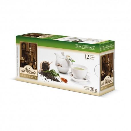 Herbata Sir William's Green Kingdom 12 saszetek