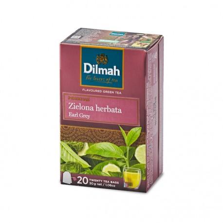 Dilmah Green Tea with Earl Grey 20 torebek