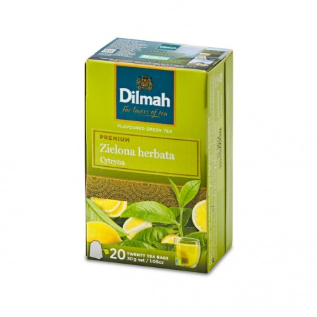 Dilmah Green Tea with Lemon 20 torebek