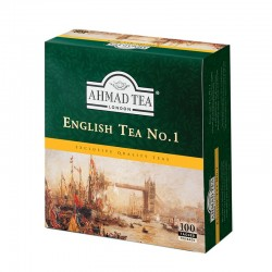 Herbata Ahmad Tea London English Tea No.1 100 torebek