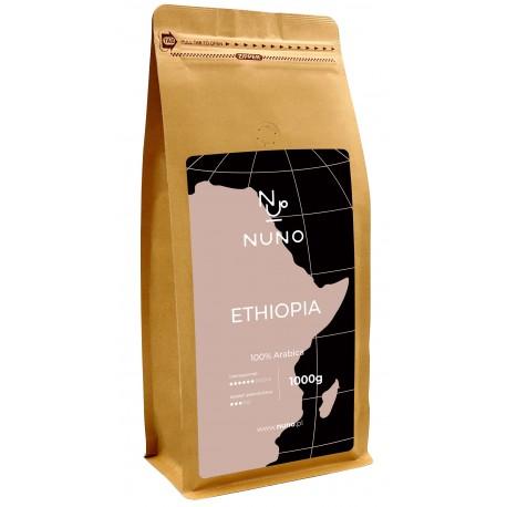 Kawa ziarnista NUNO ETHIOPIA 1000G
