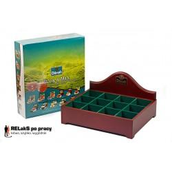 Dilmah Presenter [display duży, pusty] plus Herbata Dilmah Pick'N'Mix Junior 240 szt.