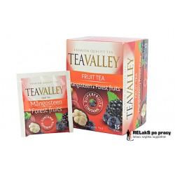 Herbata TEAVALLEY z superowocami Mangostan i Owoce Leśne 15 kopert