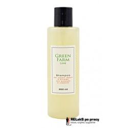 Naturalny szampon z aloe vera i avocado do włosów słabych i bez energii 200 ml