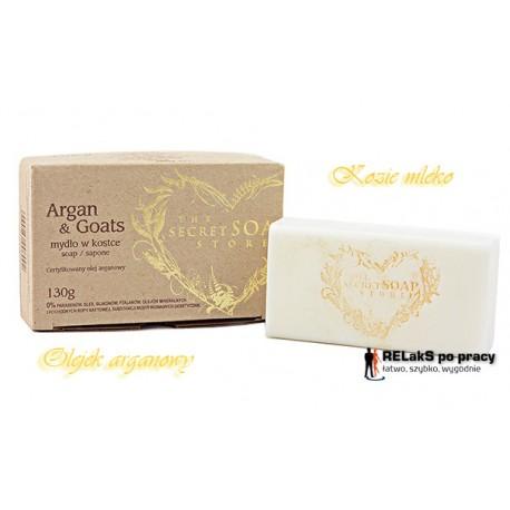Luksusowe mydło regenerująco-łagodzące arganowe 130 g