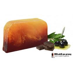 Mydło oliwkowo-laurowe czekolada z pomarańczą
