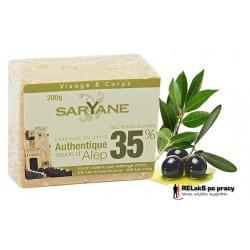 Mydło z Aleppo 35% oleju laurowego 200g Saryane