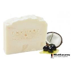 Naturalne ręcznie robione mydło White Soap