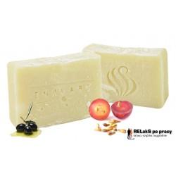 Naturalne ręcznie robione mydło Grapeseed Soap delikatne dla dzieci