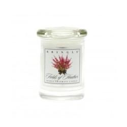 """Świeca zapachowa w słoiku """"wrzosowisko"""" Small Classic Apothecary Jar"""