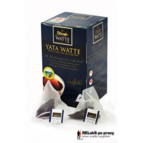 Dilmah Yata Watte [20x2g] single region ceylon tea