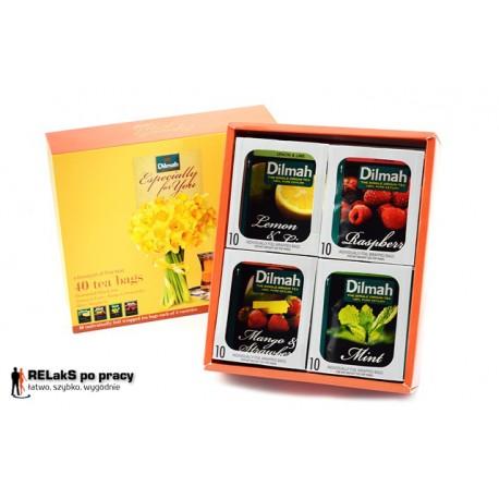 Herbaciana bombonierka Dilmah Especially for You 40 kopert