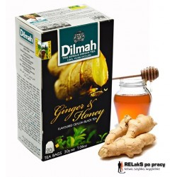 Herbata Dilmah Ginger & Honey 20 torebek