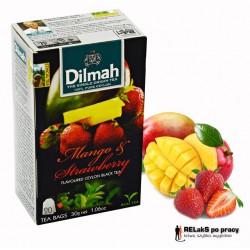 Herbata Dilmah Mango & Strawberry 20 torebek