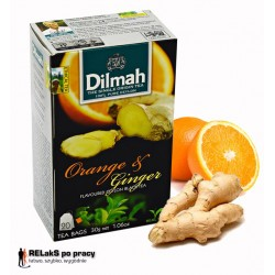 Herbata Dilmah Orange & Ginger 20 torebek