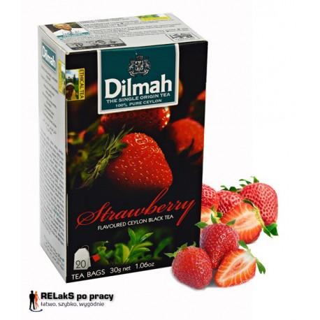 Herbata Dilmah Strawberry 20 torebek