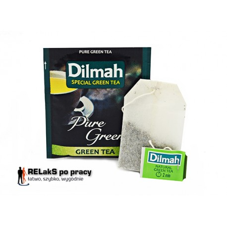 Dilmah Pure Green Tea [10x1.5g]