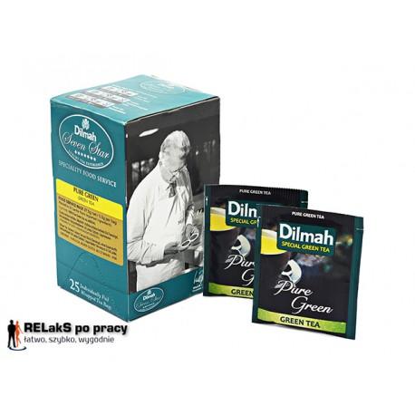 Dilmah Pure Green Tea - Czysta Zielona Herbata 25 kopert