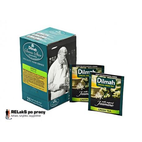 Dilmah Green Tea Jasmine - zielona herbata z kwiatem Jaśminu 25 kopert